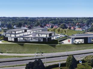 Nouveau showroom de 1.595 m² à une location phénoménal à louer le long le N9 (Gand-Bruxelles) à Zellik. Le sho