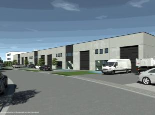 Gloednieuwe KMO-unit met een oppervlakte van 690 m² te koop in de nieuwe ontwikkeling 'ID Business Park', centraal gelegen op een toplocatie lang
