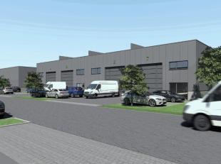 Gloednieuwe KMO-unit van 171 m² te koop in de nieuwbouw ontwikkeling 'ID park', centraal gelegen langsheen de commerciële Brusselbaan te Hek