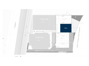 Vlot bereikbare nieuwbouw opslagruimte met een oppervlakte van 720 m² op een terrein van 1.305 m², gelegen op de industriezone Herdersbrug t
