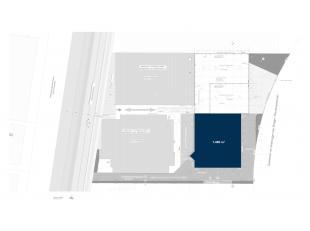 Vlot bereikbare nieuwbouw opslagruimte met een oppervlakte van 1.480 m² op een terrein van 3.077 m², gelegen op de industriezone Herdersbrug
