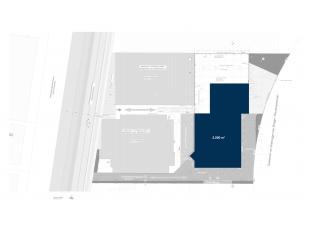 Vlot bereikbare nieuwbouw opslagruimte met een oppervlakte van 2.200 m² op een terrein van 4.382 m², gelegen op de industriezone Herdersbrug