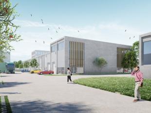 Nieuwbouw KMO-unit met een oppervlakte van 843m² te koop langsheen de Mechelsesteenweg te Nossegem, op een topligging aan de E40 afrit Sterrebeek