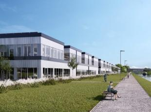 Fantastisch gelegen kantoorruimte met een oppervlakte van 526 m² te huur met zichtlocatie vanaf de R0 te Sint-Pieters-Leeuw. De afgewerkte kantor