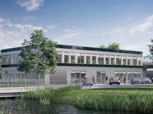 Fantastisch gelegen kantoorruimte met een oppervlakte van 526 m² te koop met zichtlocatie vanaf de R0 te Sint-Pieters-Leeuw. De afgewerkte kantor