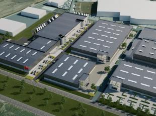 Terrein van 3.746 met een project op maat van +/- 2.000 m² te koop nabij de R8 te Kortrijk. Het gebouw wordt op maat uitgewerkt in samenspraak me