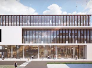 Stijlvolle kantoren met een oppervlakte startend vanaf 1.619 m² te huur of te koop langsheen de Kortrijksesteenweg te Gent. Deze te bouwen kantoo