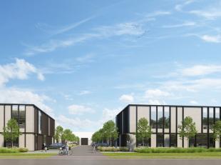 Nieuwbouw kantoorruimte / showroom met een oppervlakte van 533 m² te koop in een nieuwe ontwikkeling nabij de E17 te Nazareth. Perfect mogelijk t