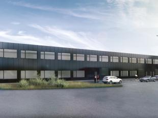 Instapklare kantoorruimte van 157 m², gelegen langs de Pathoekeweg. Het lichtrijke kantoor, dat deel uitmaakt van een groter bedrijfsgebouw is vo