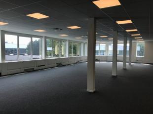 Bureau qualitative de 280 m² à louer à une location fantastique avec visibilité du R0 à Grand-Bigard. Le bureau lumin