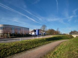 Espace polyvalent / bureau de 926 m² à louer le long le Brusselsesteenweg à Zellik. L'espace a une porte sectionnelle et se trouve