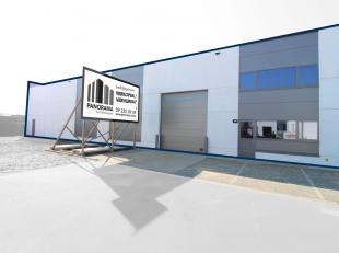 KMO-unit van 735 m² te koop, ideale ruimte voor opslag/productie/atelier. De unit is voorzien van een glasgevel met mogelijkheid tot uitbreiding,