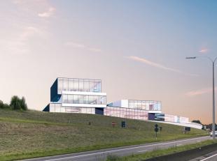 Nouveau espace commercial de 800 m² à une location phénoménal à louer le long le N9 (Gand-Bruxelles) à Zellik.