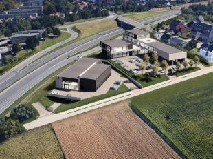 Nouveau espace commercial de 800 m² à une location phénoménal à vendre le long le N9 (Gand-Bruxelles) à Zellik