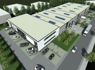 Nieuwbouw kantoor/showroom van 639 te koop langs de commerciële Brusselbaan te Hekelgem (Affligem). De ruimte kan dienst doen als kantoor / showr