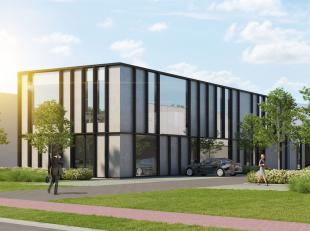 Nieuwbouw kantoorruimtemet een oppervlakte van 216 m² te koop in een nieuwe ontwikkeling nabij de E17 te Nazareth. Het kantoor bevindt zich op de