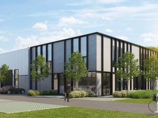 Nieuwbouw kantoorruimte / showroom met een oppervlakte van 216m² te huur in een nieuwe ontwikkeling nabij de E17 te Nazareth. Het kantoor bevindt