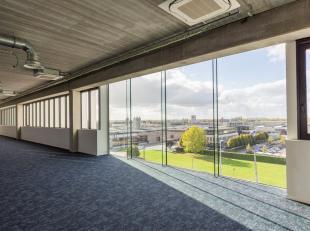 Deze unieke kantoorruimte op de 1e verdieping heeft een oppervlakte van 644 m² en wordt casco verkocht. Dankzij de rijkelijke lichtinval ontstaat