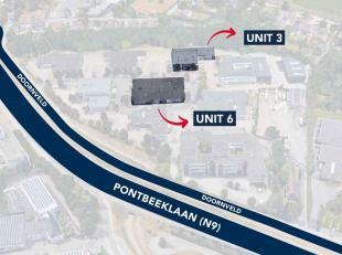 Espace multifonctionnel de 600 m² avec 7 parkings à vendre à Zellik, idéal comme dépôt / atelier / bureau  L'es