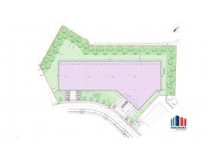 Fantastisch centraal gelegen grond van 8.791 m² met hierop op te bouwen bedrijfsgebouw OP MAAT van 3.685 m² te koop. Gelegen langs de bedrij