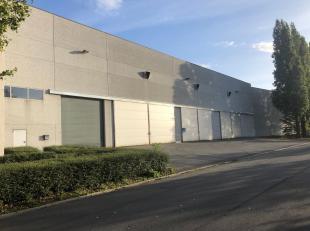 Loods van 3.515 m² te koop, gelegen in de haven van Gent, langs het Kanaal Gent-Terneuzen. Het magazijn is opgebouwd uit een oerdegelijke betonst