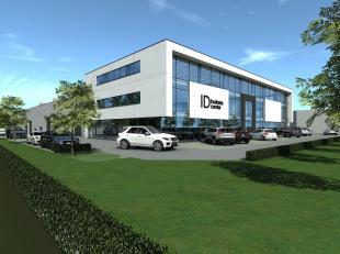 Nieuwbouw kantoor/showroom van 476 te koop langs de commerciële Brusselbaan te Hekelgem (Affligem). De ruimte kan dienst doen als kantoor / showr