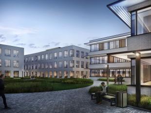 700 m² nieuwbouw kantoren te huur, gesitueerd in een zeer attractief bedrijvenpark gelegen langsheen de Schelde. Op fietsafstand van station Gent