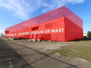 Nieuwbouw logistieke ruimte te koop vanaf 2.500 m² tot 10.000 m², vlak aan de R4, naast Volvo, Honda en gelegen langs het Kanaal Gent-Terneu