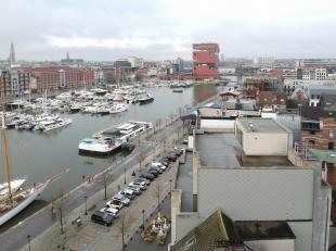 Prachtige Penthouse van 240 m² + 125 m² terras en 30 m² balkon, gelegen op 't Eilandje, centrum Antwerpen met de mogelijkheid tot aanle