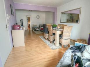 Agréable appartement de 2 chambres ± 80m² situé au 3ème étage d'un petit immeuble avec ascenseur :<br /> &nbsp