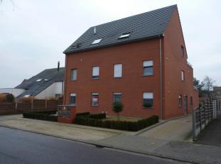 Dessel : Biezenstraat 27/001 : mooi gelijkvloers appartement met living, open geïnstalleerde keuken, 2 slaapkamers, bergplaats, douchekamer met d