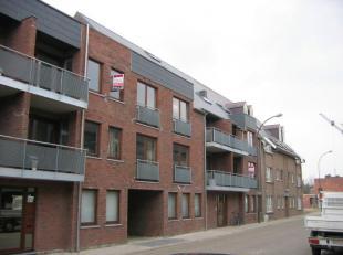 Lommel : Lepelstraat 59 b : mooi en ruim appartement met ruime living, geinstalleerde keuken met ijskast, dampkap, elektrisch vuur, aparte wc, badkame