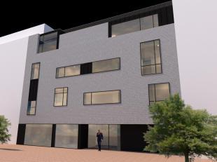 Gelijkvloers appartement of kantoor/praktijkruimte (of combinatie cfr. huidig concept). Oppervlakte 156 m2 + ca. 100 m2 buitenruilmte (terras/tuin)<br