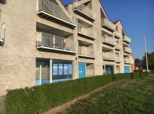Recent appartement nabij Geel-centrum. Inkomhal, apart toilet, grote wasplaats/berging, ruime woonkamer met aansluitend zonnig terras. Open keuken voo