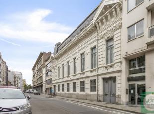 Unieke en ruime duplexloft in een voormalige Griekse ambassade gelegen vlakbij de Meir en het vernieuwde Operaplein.Deze loft bestaat uit een grote le