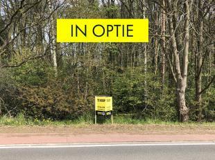 IN OPTIE - Mooie bouwgrond van 8a64ca gelegen dichtbij het centrum van Ham en op-en afrit autosnelweg. Straatbreedte van 25m. Geschikt voor een open b