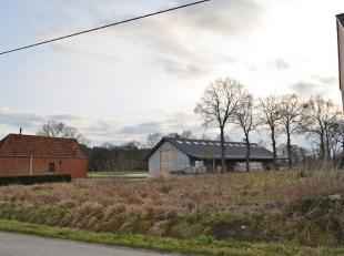 Mooi perceel bouwgrond - halfopen bebouwing - 7a 85ca te Olmen-Balen aan de Hamsestraat.<br /> <br /> Zeer rustige ligging, achteraan grenzend velden