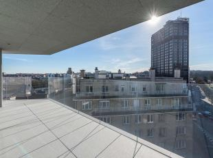 In de buurt van de Ter Kameren wijk, appartement van ± 215 m² gelegen in een gebouw van de architect Marc Corbiau.<br /> De combinatie van