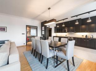 Op Louizalaan tussen het Kastelein- en Flageyplein, mooi en comfortabel ingericht appartement met een oppervlakte van ± 146 m².<br /> Het