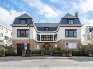 In een van de meest prestigieuze wijken van het oosten van Brussel, prachtig pand met een woonoppervlakte van ± 600 m² op een prachtig per