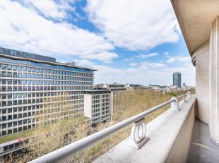 Aan de prestigieuze Louizalaan, dichtbij alle voorzieningen, appartement van ± 200 m² met een terras van ± 50 m², in een gebou