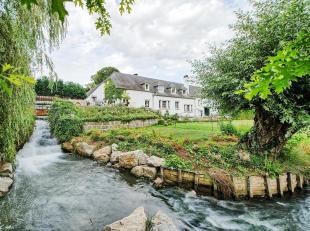 Gelegen in een park van ± 6 ha doorkruist door de Dijle, molen uit de 17e E op een oppervlakte van ± 770 m².<br /> Het hoofdhuis be