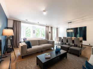 Op Louizalaan tussen Kastelein en Flageyplein, mooi en comfortabel ingerichte appartement met een oppervlakte van ± 130 m².<br /> Het appa