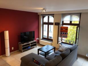 Dit appartement gelegen  op de 2 de verdieping omvat 2 slaapkamers, living, keuken, badkamer met douche. Klein terras aanwezig.