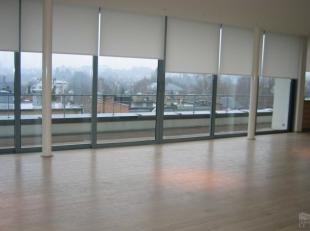 Ravissant duplex/penthouse, de +/- 120 m² + 28 m² de terrasse entièrement rénové par l'Architecte Serra di Migni, situ&