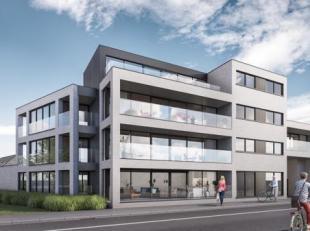 Nieuwbouwappartement (109,82 m²) op de eerste verdieping te koop in residentie Legno in de Ieperstraat in Poperinge. Het appartement beschikt ove