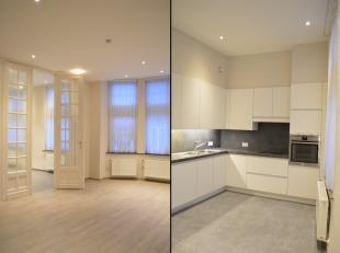 Volledig vernieuwd appartement op wandelafstand van de Grote Markt van Ieper. Het appartement is gelegen op het eerste verdiep. Prachtige afwerking! V
