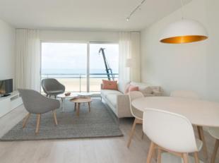 Ruim (80m²) en comfortabel appartement met zicht op zee.Het appartement werd volledig vernieuwd: nieuwe badkamers, keuken, vloeren, muurbekleding