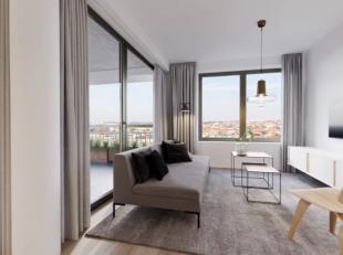 Dit mooi appartement vindt u terug in de Park Lane residentie Central gelegen op de Tour&Taxis site te Brussel. Met een bewoonbare oppervlakte van