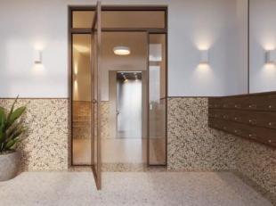 Vous trouverez ce bel appartement à vendre dans la résidence Hampton du projet Park Lane sur le site Tour & Taxis à Bruxelles